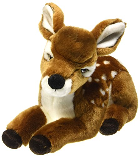 - Lelly (LELL4) 720472 Lelly Cherry Fawn Soft Toy, Lying, 26 cm, Multi-Color