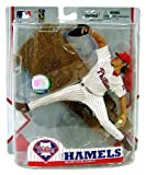 McFarlane Toys MLB Sports Picks Exclusive Action Figure Cole Hamels (Philadelphia Phillies) Home Pinstripe Uniform