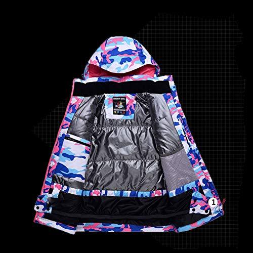 Coupe Imperméable et Veste Choix Respirante Vent Ski de Ski de Couleur Bretelles Combinaison Pantalons 5 Femme Taille Ski de Giow w6xqv07P