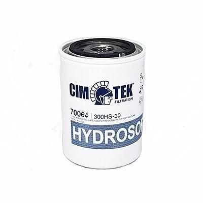 Cim-Tek 70064 Centurion 300-HS30II Hydrosorb Filter, 30 Micron: Automotive