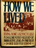 How We Lived, Irving Howe and Ken Libo, 0399900519
