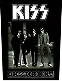 KISS Dressed To Kill Black Back Patch