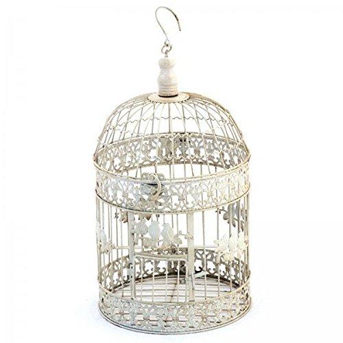 Colgante Jaula decorativa pájaro Shabby pájaro jaula 42 cm Vintage ...