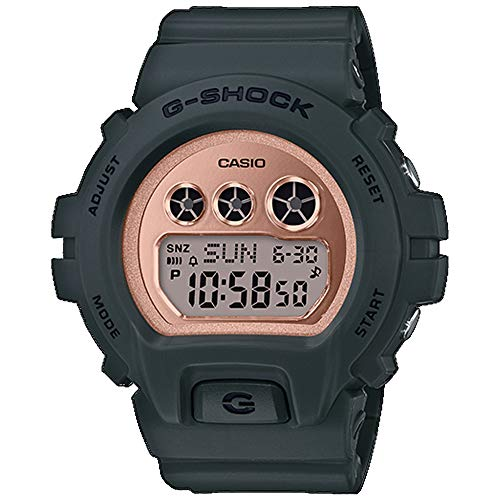 - G-Shock Women's G-SHOCK S Series Watch GMDS6900MC, Military Green/Gold (MILGRN/3), One Size