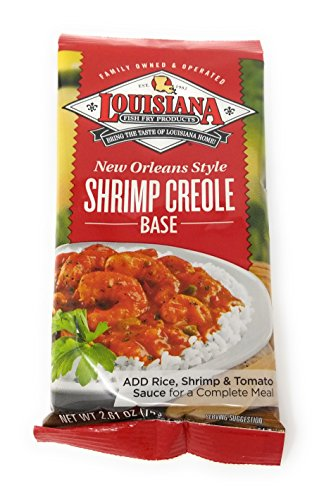- Louisiana New Orleans Style Shrimp Creole Base 2.61oz (Qty 3)