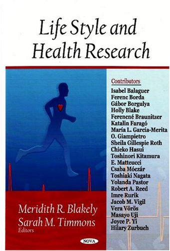 Download Life Style and Health Research pdf epub