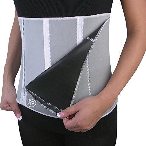 Waist Trimmer Tummy Belt-slimmer Belt-adjustable Size Fit...