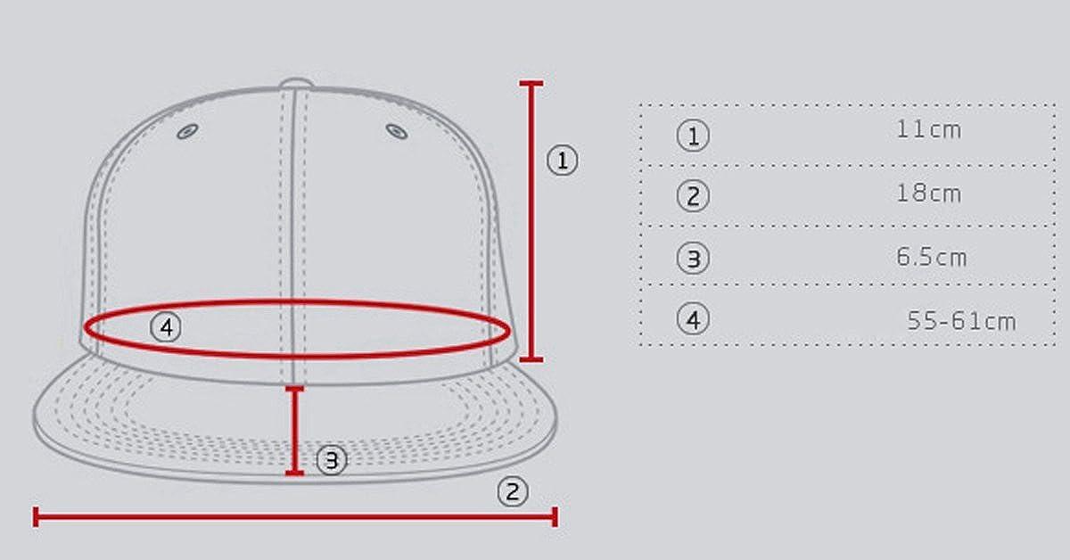 Aivtalk - Negra Gorra de Béisbol Unisex Sombrero Plano con Bordado de Cruz  Accesorios Para Hombre Mujer ... 5bbbab3ea3b