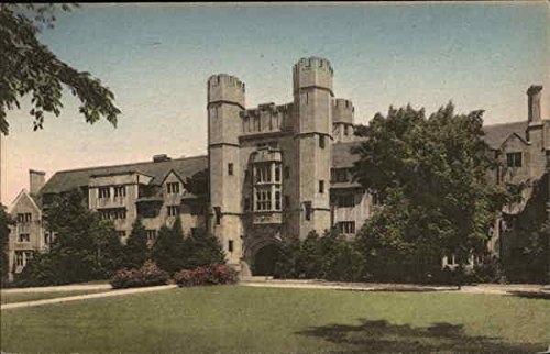 Memorial Hall, Indiana University Bloomington Original Vintage Postcard from CardCow Vintage Postcards