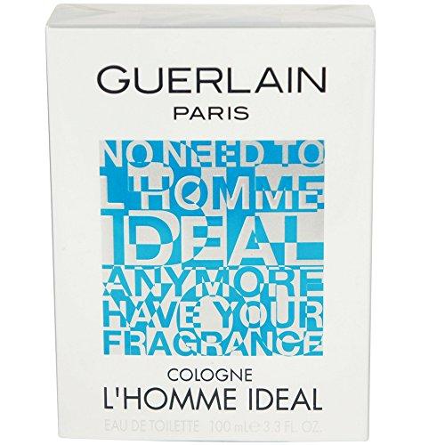 L'Homme By Guerlain Ideal Cologne Eau De Toilette Spray For Men 3.3 oz