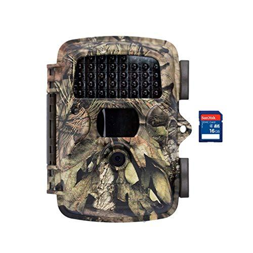 Covert MP8 Black Wireless Trail Game Wildlife Deer Hunting Camera + 16GB SD Card