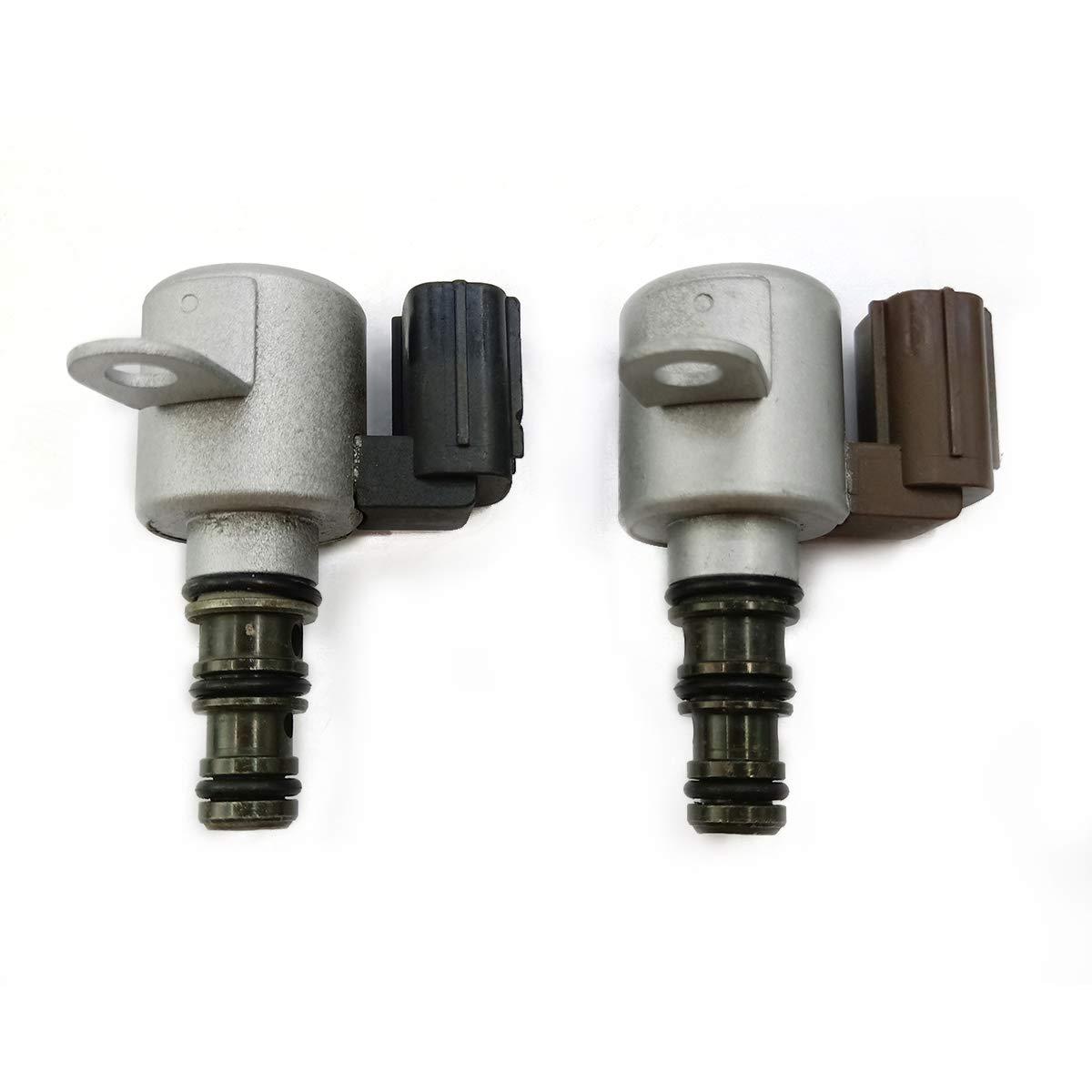 Amhousejoy Transmission Shift Solenoid Kit Fits 1998-2007 Honda Acura B/&C Brown /& Black 28400-P6H-003 28400-P6H-013 28500-P6H-003 28500-P6H-013