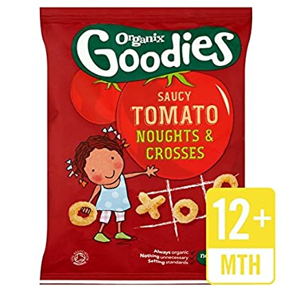 Organix extras Nadas y cruces para Salsas de tomate 15 g