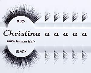 Christina 6 packs Eyelashes - #605