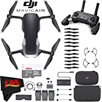 DJI Mavic Air Fly More Combo (Onyx Black) + Extreme Drone Flyer Accessory Bundle