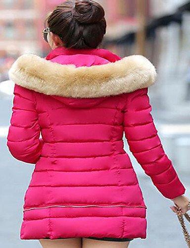 GGX/ Schuhe Frühling / Sommer / Herbst / Winter-Frauen Komfort / spitze Zehe Fersen Hochzeit / Outdoor / Kleid / beiläufige klobige Ferse pink-us6.5-7 / eu37 / uk4.5-5 / cn37