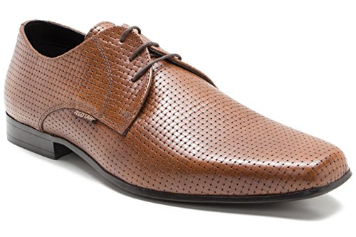Red Herren Tan Lace Schuh up Formal Tape SHrq5cwS