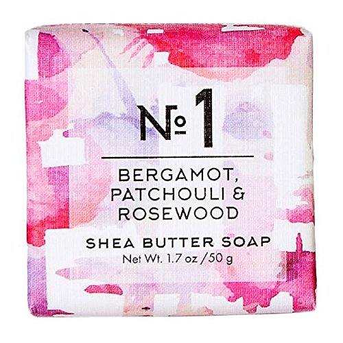 European Soaps Via Mercato 50 Grams Bergamot Patchouli and Rosewood Bath and Shower Products from European Soaps