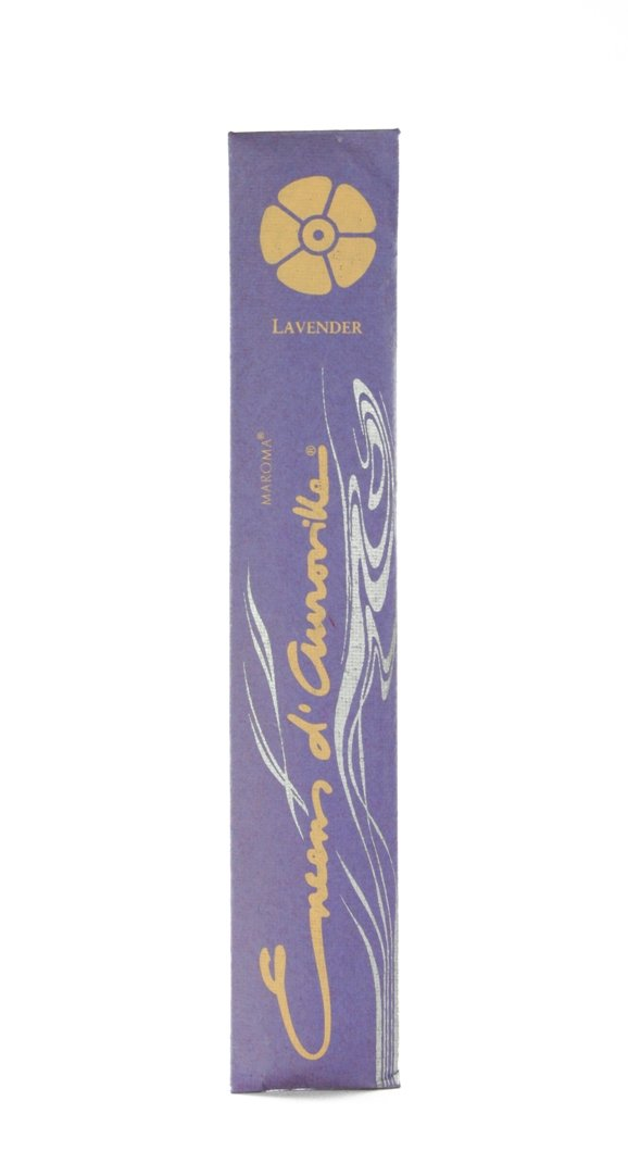 Maroma Incense Encens d 'aurovilleラベンダー10 Sticks B000LV5XLE