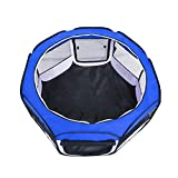 FIRSTWELL Portable Puppy Playpen Pet Pen for Dogs