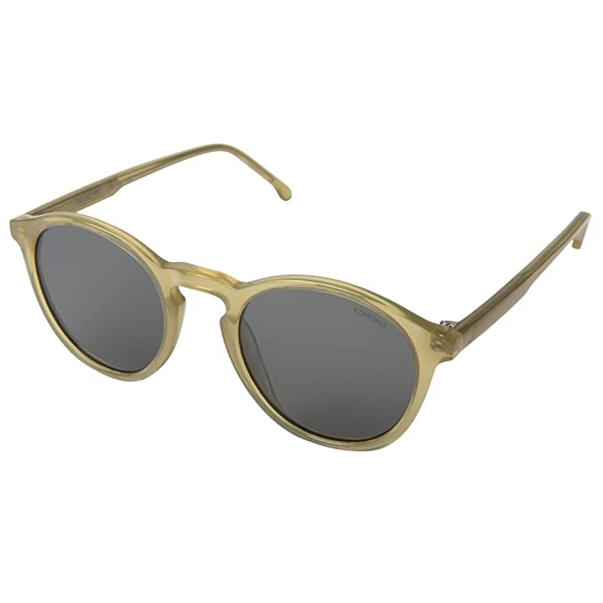 Kom Unisex Sunglasses Komono Green Black Round S2409 Frame Lens 6gbf7y