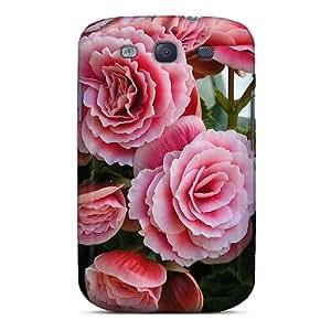 High Quality YTW9081dVFt Begonia Tpu Case For Galaxy S3