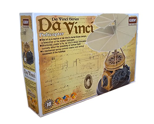 ACADEMY Da Vinci Machines Series Helicopter - #18159 by Academy (Da Vinci Machines)