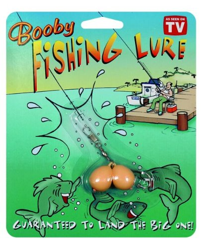 Novelty Booby Fishing Lure Prank Gag Gift For The Fisherman