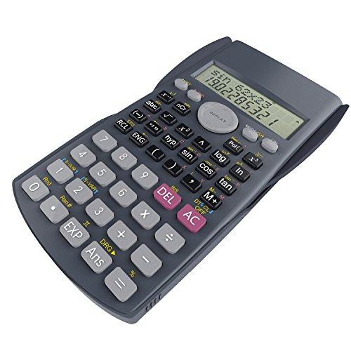 Scientific Calculator, Helect 2-Line Engineering Calculator - H1002