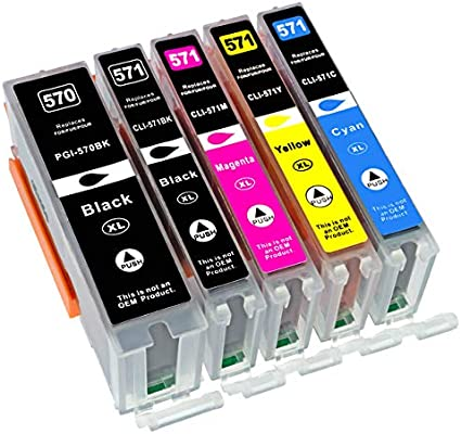 5 compatibles. XL Cartuchos de Impresora para Canon Pixma ...