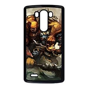 LG G3 Cell Phone Case Black Garrosh Hellscream 011 KI5984490