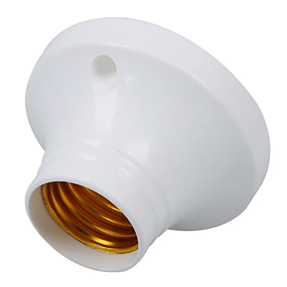 10pcs E27 Socket Plastic Light Lamp Holder Base AC250V 6A - Led Household Light Bulbs - Amazon.com