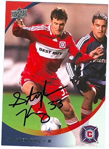 Stephen King Autographed Soccer Trading Card Mls Soccer Autographed Soccer Cards At Amazon S Sports Collectibles Store