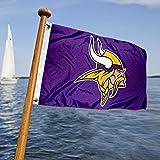 WinCraft Minnesota Vikings Boat and Golf Cart Flag