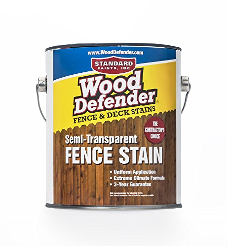 Wood Defender - Semi-Transparent Fence Stain- Sierra - 1 Gallon