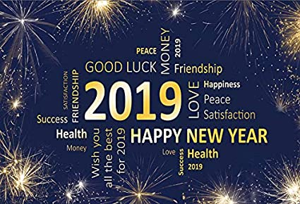 2019 new year party photography backdrops photo background yeele 6x4ft 2019 wishing wall happy