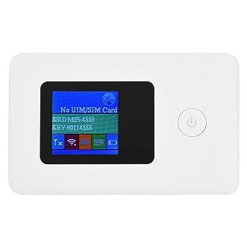 Router Portátil WiFi,4G WiFi Enrutador Mini Mobile Hotspot ...