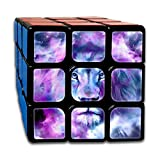 Lion Drawing 3x3x3 Speed Rubik's Magic Cube Square 3D Printed Puzzles Game Portable Toys-Anti Stress For Anti-anxiety Adults Kids