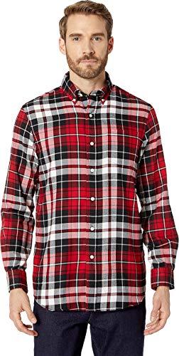 - Chaps Men's Plaid Fashion Long Sleeve Sport Shirt, Park Avenue red/Multi, L