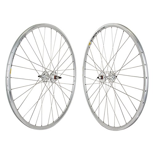 Mavic CXP Elite Track Fixed Gear Single Speed Wheelset Silver 32h Formula Hub