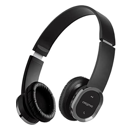 0375175f94b Image Unavailable. Image not available for. Color: Creative WP-450 Wireless  Bluetooth Headphone ...