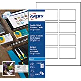 Avery 200 Cartes De Visite Bords Lisses 240g