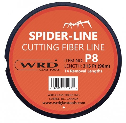 WRD Spider Line P8 Reusable Cutting Fiber Line 315 Feet by WRD