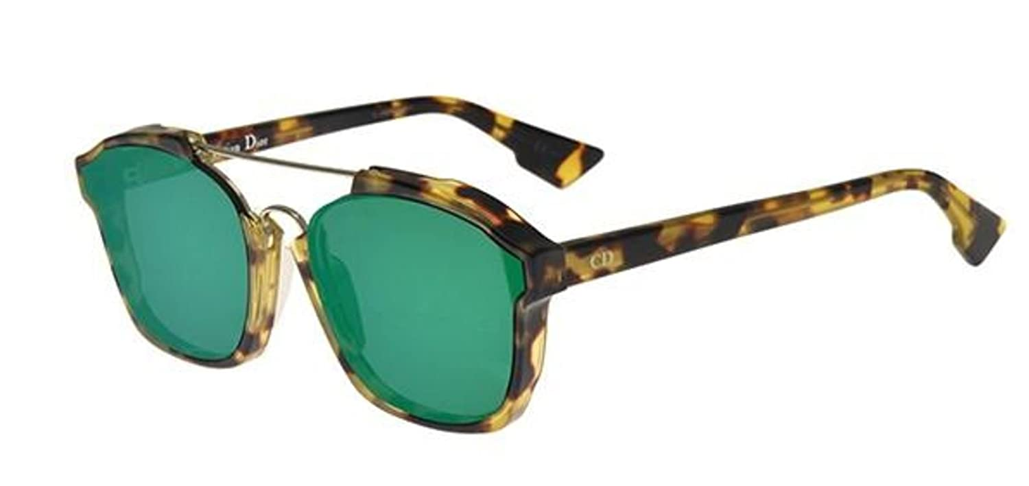 b224536c0c82 New Christian Dior ABSTRACT 00f9s Tortoise with Green Mirror Sunglasses   Amazon.co.uk  Clothing
