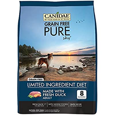CANIDAE Grain Free Pure Sky Adult Dog Food, 4 lbs.