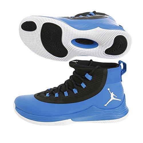Scarpa da basket JR Ultra Fly da uomo Nike Soar / Bianco-Nero 10