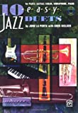 img - for 10 Easy Jazz Duets: C (Flute, Guitar, Violin, Vibraharp, Piano), Book & CD book / textbook / text book