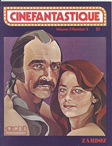 Cinafantastique Magazine Volume 3 Number 3 Fall 1974 (Zardoz Art Cover)