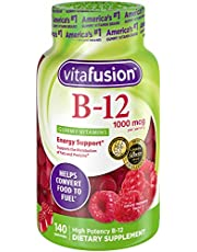 Vitafusion Vitamin B-12 1000 mcg Gummy Supplement, 140ct