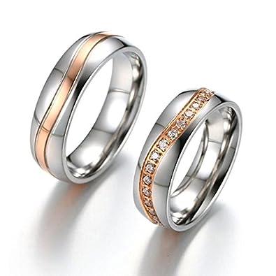 Amazon Com Gemmart Luxury Cz Stones Wedding Ring Band Men Wave